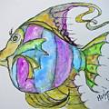 Lady Fish  by Linda Hughes-fonte