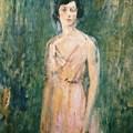 Lady In A Pink Dress by Ambrose McEvoy
