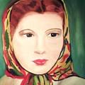 Lady In A Scarf by Jo-Ann Hayden