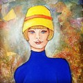 Lady In A Yellow Hat by Sue LaMarr