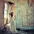 Lady In An Old Abandoned House by Jill Battaglia