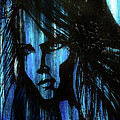Lady In Blue by Carolyn Anderson
