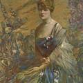 Lady In Blue by Reid Robert Lewis