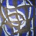 Lady In Blue by Zalina Barrington