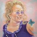 Lady In Purple by Joni McPherson