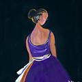 Lady In Purple by Robert Lee Hicks