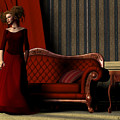 Lady In Red by Corey Ford