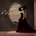 Lady In Red Dress by Corey Ford