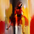 Lady In Red  by Gull G