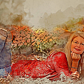 Lady In The Leaves 1 by Ericamaxine Price