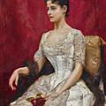 Lady In White by Julius LeBlanc Stewart