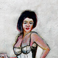 Lady Jane With Red Lipstick by Tom Conway