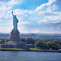 Lady Liberty Ny Harbor by Daniel Krieger