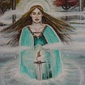 Lady Of The Lake II by Tammy Mae Moon