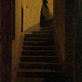 Lady On The Staircase by MotionAge Designs
