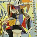 Lady Sitting by Neil Gallagher