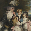 Lady Smith And Her Children by Joshua Reynolds