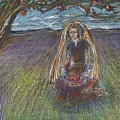 Lady Under A Tree by Laurie Parker