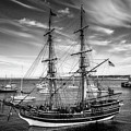 Lady Washington In Black And White by Garry Gay