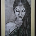 Lady With Bridal Jewelry by Sneha Choudhary