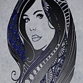 Lady Zen by Mark Taylor
