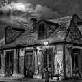 Lafittes Blacksmith Shop Bw by Alex Demyan