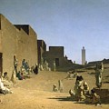 Laghouat In The Algerian Sahara by Gustave Caillebotte