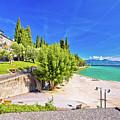Lago Di Garda Beach In Sirmione View by Brch Photography