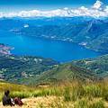 Lago Maggiore Italy Switzerland by Matthias Hauser