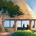 Laguna Gazebo by Eve Thompson