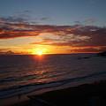 Laguna Golden Sunset by John Loyd Rushing