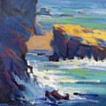 Laguna Rocks by Konnie Kim