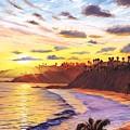 Laguna Village Sunset by Steve Simon