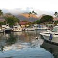 Lahaina Bay by John Loyd Rushing