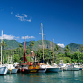 Lahaina Harbor - Maui by William Waterfall - Printscapes