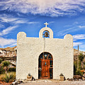 Lajitas Chapel 1 by Judy Vincent
