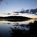 Lake At Dusk by Tina Barnash