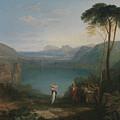 Lake Avernus - Aeneas And The Cumaean Sybil by Grypons Art