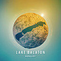 Lake Balaton 3d Little Planet 360-degree Sphere Panorama by Frank Ramspott