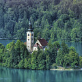 Lake Bled Island by Don Wolf