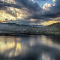 Lake Bled Sunset by Ceri Jones