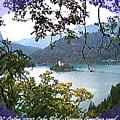Lake Bled.slovenia.greeting Card by Dr Loifer Vladimir