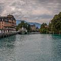 Lake Brienz Switzerland by Brenda Jacobs