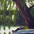 Lake Carmel Landscape by Coralyn Klubnick Simone