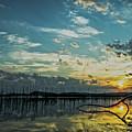 Lake Champlain Vermont Sunrise - 2 Landscape by James Aiken