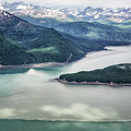 Lake Clark Np From The Plane by Belinda Greb