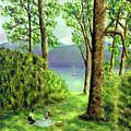 Lake Derwentwater - Lake District by Ronald Haber