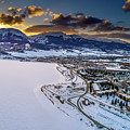 Lake Dillon Sunset by Sebastian Musial