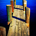 Lake Dock by Perry Webster