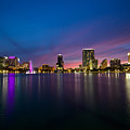 Lake Eola Sunset by Monica Wellman